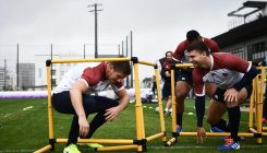 England spot camera 'spy' at Rugby World Cup training
