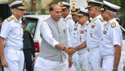 Navy vigil to ensure 26/11 doesn't recur: Rajnath