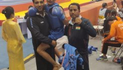 Praveen bags gold in Wushu World Championship