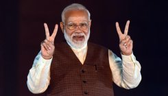 Modi-Gandhi painting gets highest bid in e-auction