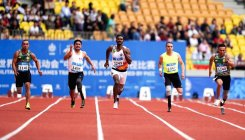 Para-athlete wins gold medal at military world games