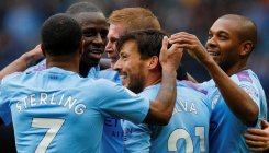 Sterling sparkles as Man City see off Villa