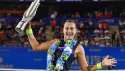 Sabalenka reigns supreme in China to lift WTA trophy