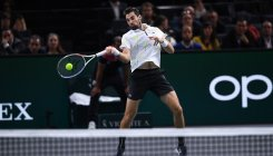 Medvedev's winning run ends in defeat by Chardy