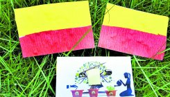 Rajyotsava: Paper seed flags given to five schools
