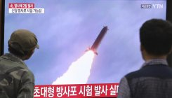 North Korea fires short-range projectiles: South