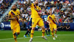 Barcelona slip to shock defeat after Levante goal swirl