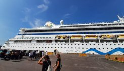 Cruise season kicks off at New Mangalore Port