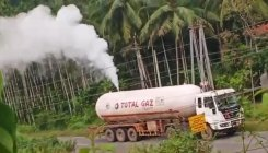 Gas leak from tanker creates tension near Uppinangady