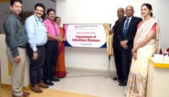 Dept of Infectious Diseases launched at KMC-Manipal