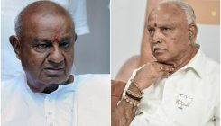 BSY, Deve Gowda dismiss claims on future alliance