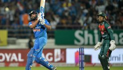 Just wanted to stay still and tonk the ball, says Rohit