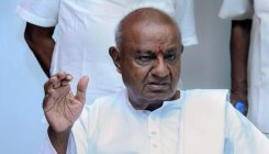 Deve Gowda irked over questions on JD(S)-BJP alliance
