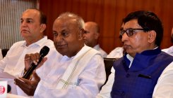 JD(S) will not support BJP, says Deve Gowda