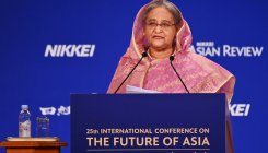 Rohingyas 'threat' to national security: Bangladesh PM