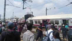 Local hits intercity train in Hyderabad, 16 injured