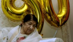 Lata Mangeshkar admitted to hospital, recovering