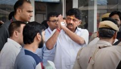 DK Shivakumar hospitalised due to high blood pressure