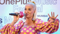 Katy Perry arrives in Mumbai, has Bollywood on mind