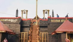 Tight security cover at Sabarimala