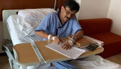 'Down but not out,' says Sanjay Raut