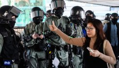 Chinese state media hails Hong Kong police 'restraint'
