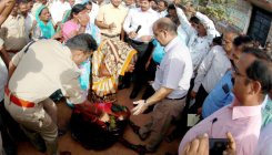 Central team visits Bagalkot dist to assess flood loss