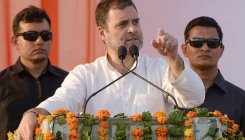 "SC asks Rahul Gandhi to be ""more careful"""
