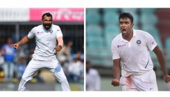 Shami, Ashwin run through Bangladesh batting