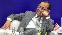 Chief Justice Ranjan Gogoi sits in bench for last time