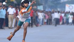 Blindfold skating: Hubballi girl rolls into record book