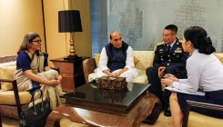 Rajnath arrives in Bangkok for ADMM-Plus meeting