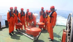 Exercise held to check response to disasters at sea