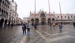 St. Mark's Square reopens in Venice