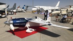 Tournament unveils first electric racing aircraft