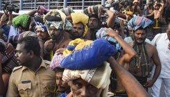 Heavy rush at Sabarimala temple