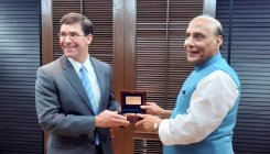 Rajnath holds talks with Esper focusing on Indo-Pacific