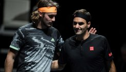 Tsitsipas shocks Federer to reach final at ATP Finals