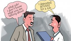 Tech major Infosys lodges FIR over job racket