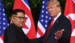 Trump tweets at Kim, tells him to 'get the deal done'