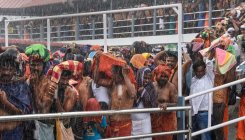 Heavy rush of pilgrims continues at Lord Ayyappa temple