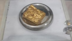 Gold worth Rs 18.47L seized at MIA