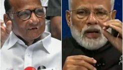 Pawar meets Modi, briefs on farm crisis in Maharashtra