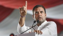 10k adivasis charged with sedition, Rahul attacks media