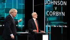 British PM, labour leader spar over Brexit