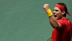 Nadal hails 'amazing atmosphere' at Davis Cup