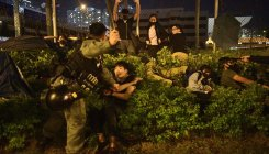 HK campus protest nearing end as US bill angers China