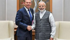 Former Australian PM Tony Abbott calls on PM Modi