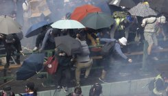 Hong Kong's clouds of tear gas spark health panic