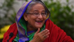 PM Hasina arrives in Kolkata to attend Day/Night Test